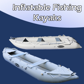 Inflatable kayaks and canoes